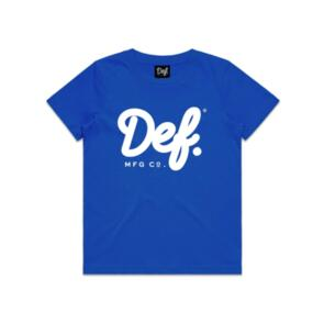 DEF SIGNATURE YOUTH TEE ROYAL