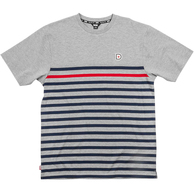 DGK LIVERPOOL S/S KNIT GREY