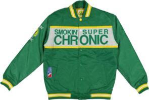DGK SMOKIN' SUPER CHRONIC BOMBER GREEN
