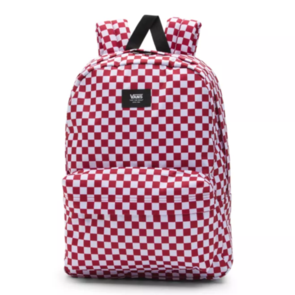 VANS OLD SKOOL III BACKPACK CHILLI PEPPER CHECKERBOARD