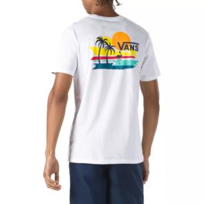 VANS VINTAGE BEACH SS TEE WHITE