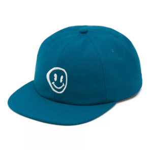 VANS HAVE A TRIP VINTAGE UNSTRUCTED CAP BLUE CORAL