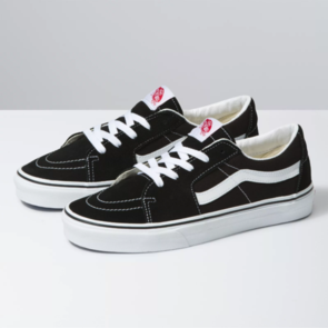 VANS SK8 LOW BLACK TRUE WHITE
