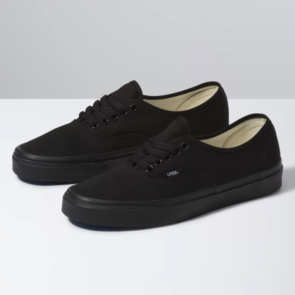 VANS AUTHENTIC ALL BLACK (BLACK/BLACK)