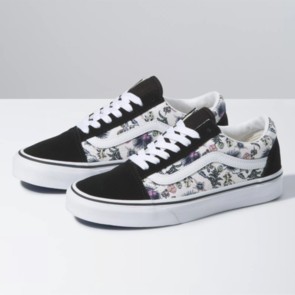 VANS OLD SKOOL (PARADISE FLORAL) ORCHID TRUE WHITE