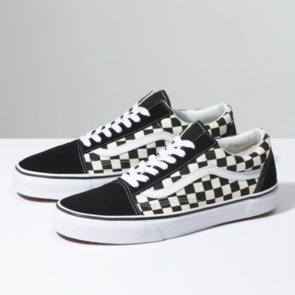 VANS OLD SKOOL (PRIMARY CHECK) BLACK WHITE
