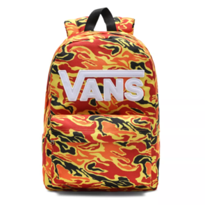 VANS NEW SKOOL BACKPACK BOYS FLAME CAMO