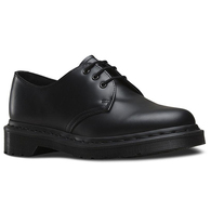 DR MARTENS 1461 MONO 3 EYE BLACK SMOOTH
