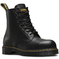 DR MARTENS ICON 7B10 ST 7 EYE STEEL CAP BOOT BLACK