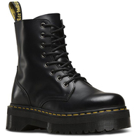DR MARTENS JADON 8 EYE BLACK POLISH SMOOTH