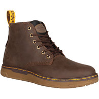 DR MARTENS LEDGER SP1 ST 6 EYE BOOT BROWN
