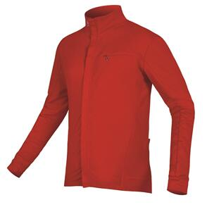 ENDURA XTRACT ROUBAIX L/S JERSEY RED