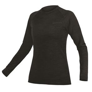 ENDURA BAABAA BLEND L/S BASE LAYER WOMENS BLACK