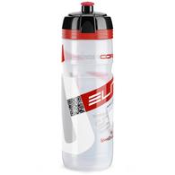 ELITE BOTTLES SUPERCORSA WATER BOTTLE CLEAR RED 750ML
