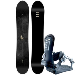 ENDEAVOR SNOWBOARDS 2020 CLOUT SERIES SNOWBOARD + FIX 22 BINDINGS