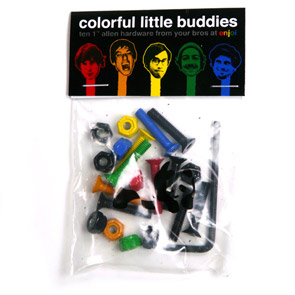 ENJOI LITTLE BUDDIES 1 INCH MOUNTING HARDWARE
