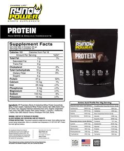 RYNO POWER ESSENTIALS POWER PACKAGE CHOCOLATE AND FRUIT PUNCH