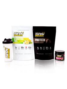 RYNO POWER ESSENTIALS POWER PACKAGE CHOCOLATE AND LEMON LIME