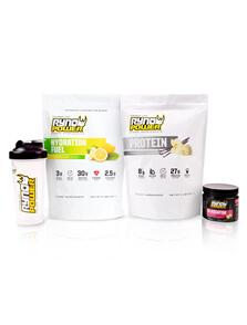 RYNO POWER ESSENTIALS POWER PACKAGE VANILLA AND LEMON LIME