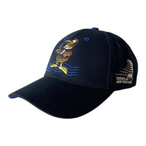 EMIRATES TEAM NZ ETNZ KIDS KIWI CAP NAVY