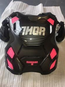 THOR GUARDIAN MX CHEST PROTECTOR WOMAN BLACK PINK