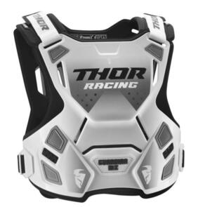 THOR GUARDIAN MX YOUTH CHEST PROTECTOR WHITE