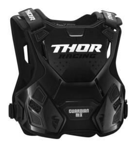 THOR GUARDIAN MX YOUTH CHEST PROTECTOR BLACK
