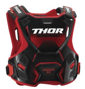THOR GUARDIAN MX YOUTH CHEST PROTECTOR RED