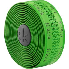 FIZIK BAR TAPE SUPERLIGHT 2MM TACKY GREEN WITH LOGOS#