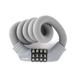 ULAC LOCK 1970 CABLE COMBO 15MM X 60CM GREY