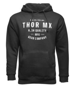 THOR HOODY MX CRAFTED BLACK