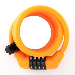 ULAC LOCK ZEN MASTER CABLE COMBO 10MM X 150CM ORANGE