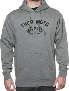 THOR HOODY FINISH LINE PULLOVER GREY