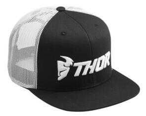 THOR HAT TRUCKER BLACK/WHITE