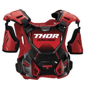 THOR CHEST PROTECTOR GUARDIAN S20 YOUTH RED