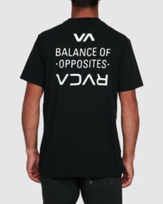 RVCA FAIRFAX SS TEE BLACK