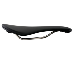 FABRIC SCOOP SHALLOW RACE SADDLE BLACK TITANIUM NYLON