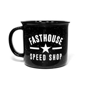 FASTHOUSE CERAMIC MUG BLACK