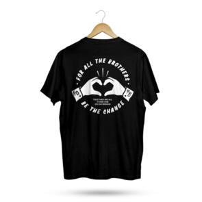 HYPER RIDE FOR ALL THE BROTHERS TEE BLACK — PREORDER