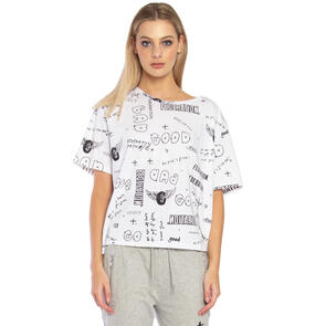 FEDERATION WOMENS STORY TEE - COLLECTION WHITE