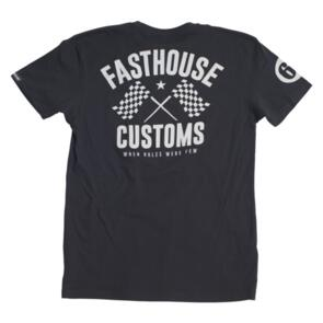 FASTHOUSE 68 TRICK TEE BLACK