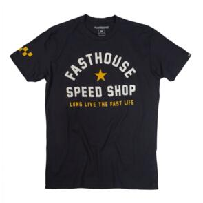 FASTHOUSE FAST LIFE TEE BLACK
