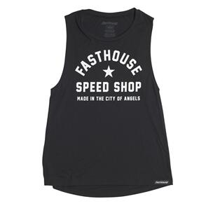 FASTHOUSE WOMENS FAST LIFE TANK BLACK