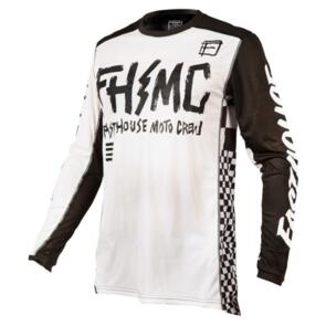 FASTHOUSE GRINDHOUSE PUNK JERSEY WHITE/BLACK