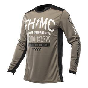 FASTHOUSE 2022 GRINDHOUSE CYPHER JERSEY MOSS/GRAY