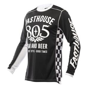 FASTHOUSE 2022 GRINDHOUSE 805 JERSEY BLACK