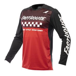 FASTHOUSE 2022 ELROD JERSEY BLACK/RED