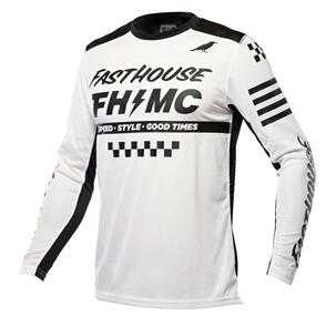 FASTHOUSE 2022 A/C ELROD JERSEY WHITE