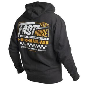 FASTHOUSE TOLL FREE HOODED PULLOVER BLACK