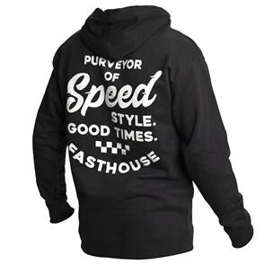 FASTHOUSE ENFIELD HOODED PULLOVER BLACK